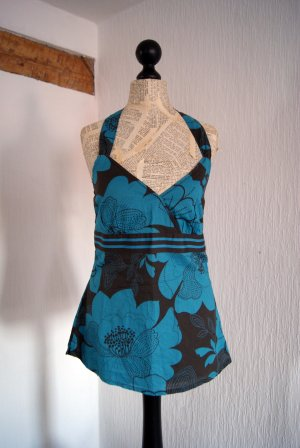 Esprit Halter Top steel blue-cadet blue mixture fibre