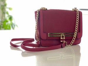 NEU: New Look Nina Crossbody bag in Fuchsia mit goldener Chain