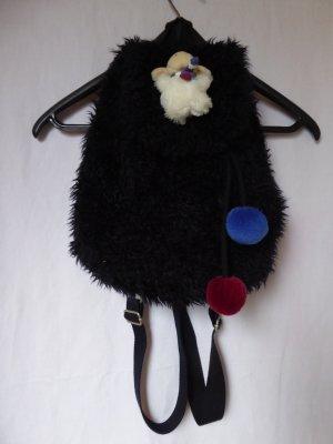 NEU - NICI – Plüschrucksack in schwarz mit Schaf
