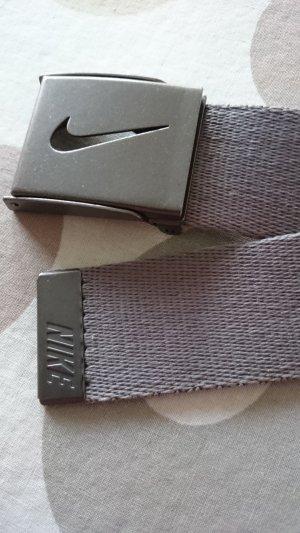 Nike Canvas Belt grey synthetic fibre