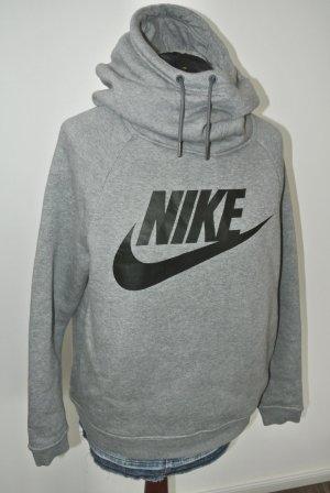 Nike Sweat à capuche noir-gris clair