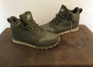 Nike Lace Shoes olive green-khaki