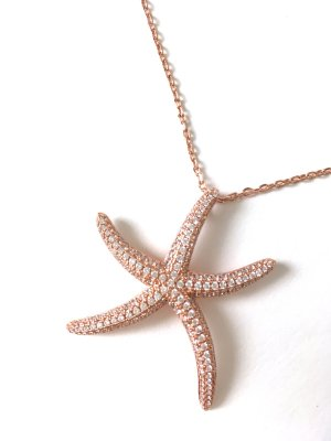 Gold Chain rose-gold-coloured-white