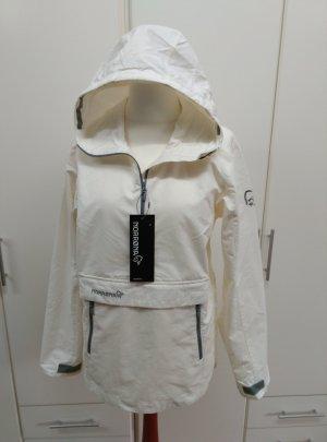 Chaqueta para exteriores blanco puro-blanco Algodón