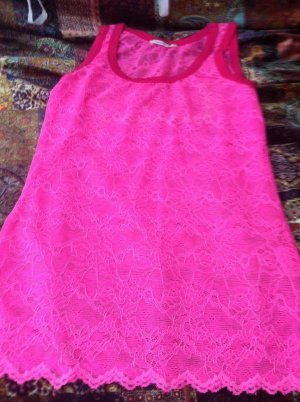 Northland Lace Top pink viscose