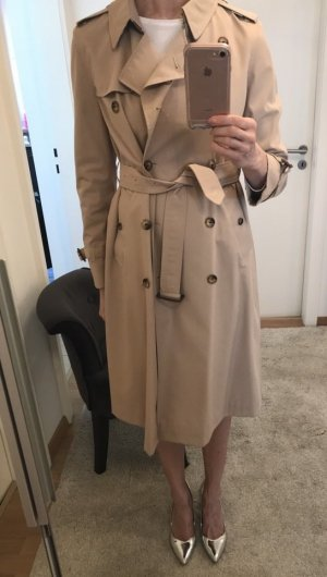 Burberry Trench Coat gold-colored-pale yellow