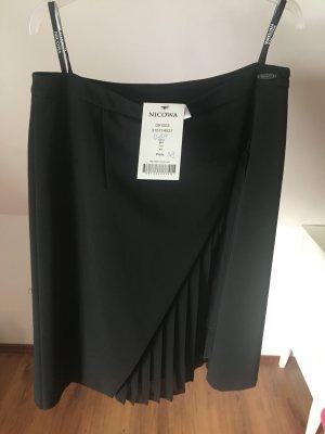 NEU NP 150€ Nicowa Rock schwarz High waist 40 L business