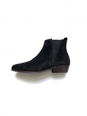 Neu! Office London Wildleder Chelsea Ankle Boots Clean Chic 39