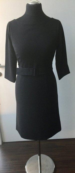 Neu ohne Etikett: Kleid ST. EMILE 3/4 Ärmel und Stoffgürtel