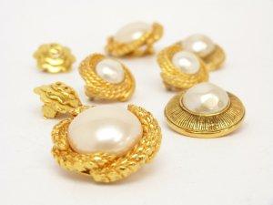 NEU! Ohrringe  Süßwasser Zucht Perle Echt Perle Rose Gold 585