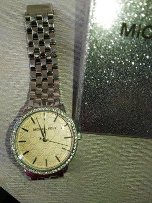 Michael Kors Orologio con cinturino di metallo rosa pallido-argento Metallo