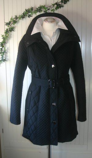 Neu! Original Burberry Stepp-Mantel schwarz Gr.38/40 UK12 S/M Trenchcoat
