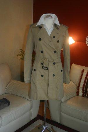 Neu!!! Original Burberry Trenchcoat Gr.44 UK16 beige/honey mittellang Mantel