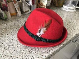 Neu!!! Original Damen Trachten Hut in rot