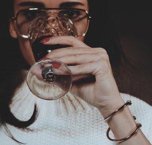 Gucci Aviator Glasses multicolored acetate