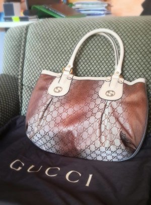 *NEU*Original* Gucci GG Canvas Scarlett Stud Interlocking G Tote Tasche, NP 890€