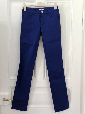 Versace Pantalone jersey blu Cotone