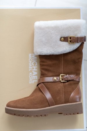 Michael Kors Snow Boots brown-natural white