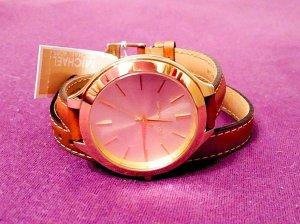 NEU!!! Original Michael Kors Uhr mit Lederarmband, NP 190€