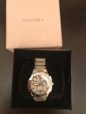 Neu Original Pandora Imagine Grand C watch 811001WH Crown Diamond