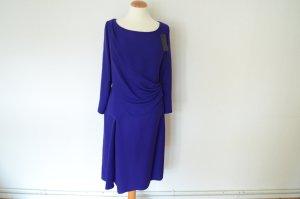 NEU! Original PRADA blaues Abendkleid mit Raffungen D 40 IT 46 Kleid UVP 1544,00 €