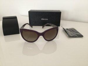 Prada Gafas de sol ovaladas violeta grisáceo Material sintético