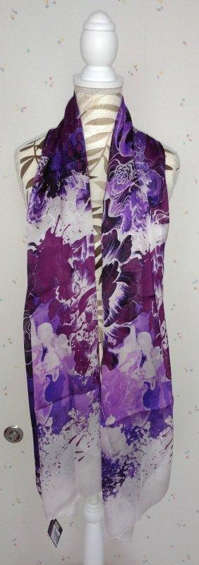 Roberto Cavalli Zijden sjaal veelkleurig