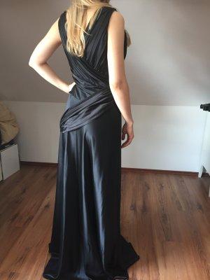 Neu Orwell Kleid Seidenkleid 40 42 schwarz Abendkleid Seide elegant Abschlusskleid