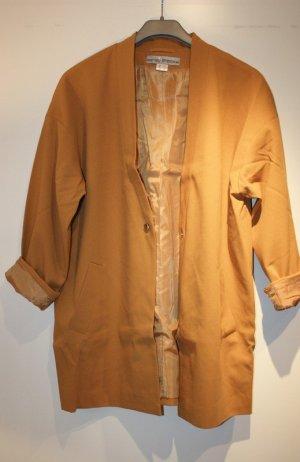 Ashley Brooke Blazer lungo color cammello Tessuto misto