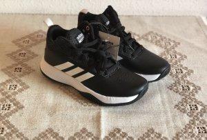 Adidas Sneaker con tacco nero-bianco