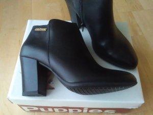 Neu OVP Hush Puppies Stiefeletten Ankle Boots in Schwarz