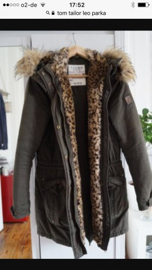 NEU Parka Tom Taylor w. Zara Leopard 40 L
