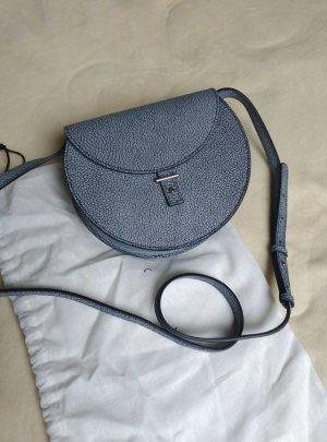 Crossbody bag multicolored leather