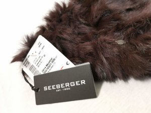 Seeberger Cappellino marrone scuro