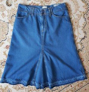 NEU Pepe Jeans High Waist A-Linie Rock Vintage Jeansrock S NP 90€