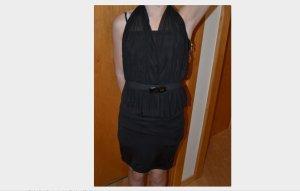 Peplum jurk veelkleurig
