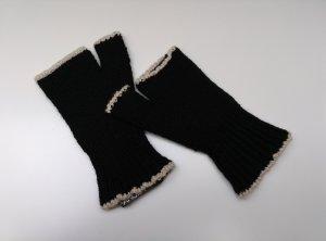 NEU! Pianura Studio Handschuhe Halbhandschuhe Wollhandschuhe in schwarz