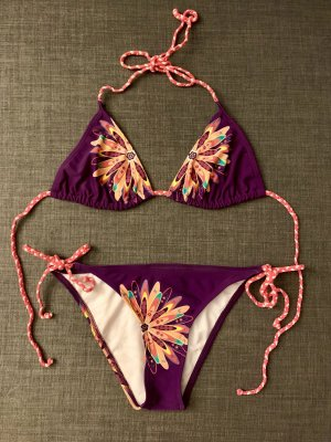 Neu Pieces Triangel Swimsuit Swimwear Bikini Swimwear Badeanzug 36 S Top