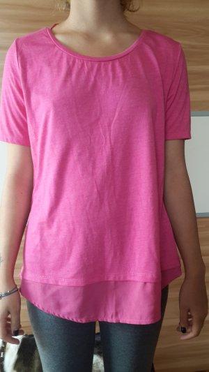 Neu Pink Bluse Shirt Pulli Tunika