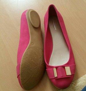 Neu! Pinke-Ballerinas