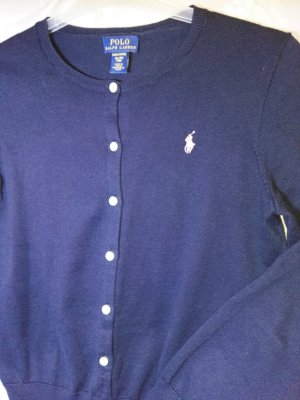 Neu! POLO Ralph Lauren Strickjacke, blau