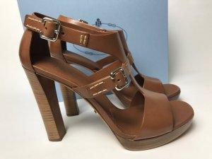 NEU Prada Schuhe braun Gr. 40,5