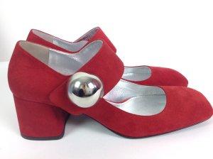 Neu Prada Schuhe rot Gr. 36,5