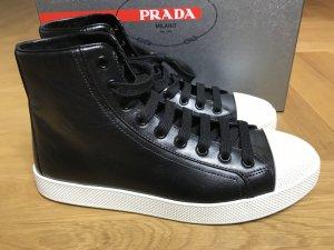 Prada Sneakers black leather