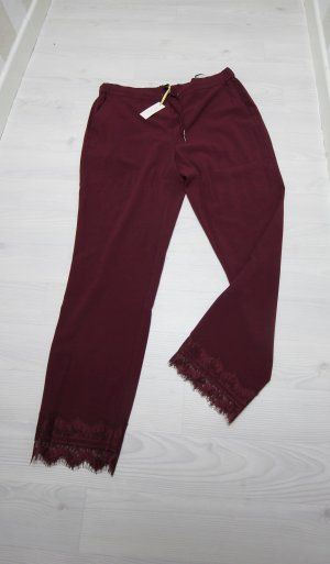b.p.c. Bonprix Collection Pantalón rojo zarzamora