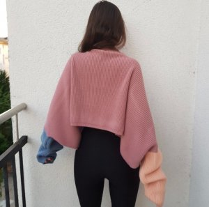 PrettyLittleThing Pull oversize multicolore