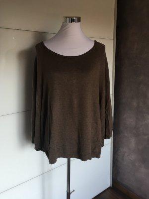 BC Maglione oversize marrone-grigio