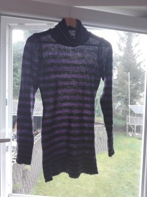 Sweater Dress black-lilac
