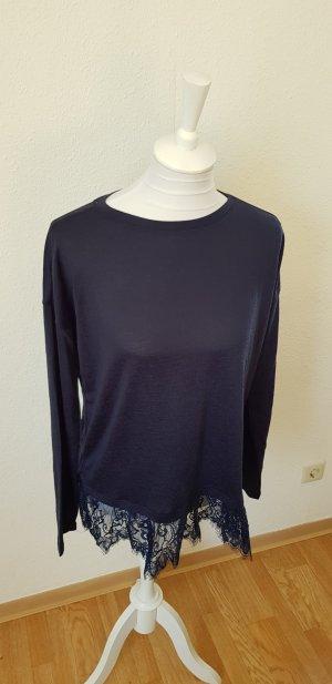 NEU Pullover mit Spitze