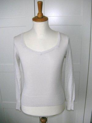 neu, Pullover, Pulli, langärmliges Shirt, Flashlights, creme, beige, Gr. 34